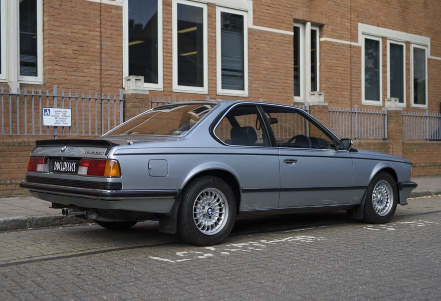 1982 BMW 635 CSiFor Sale In London (RHD) For Sale in London For Sale (picture 3 of 24)