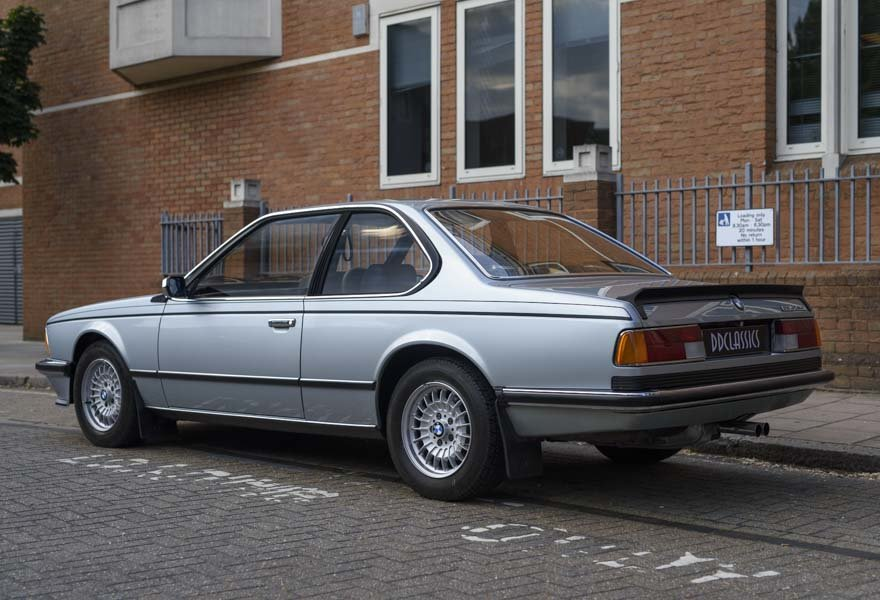 1982 BMW 635 CSiFor Sale In London (RHD) For Sale in London For Sale (picture 4 of 24)