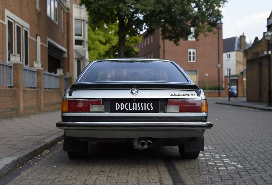 1982 BMW 635 CSiFor Sale In London (RHD) For Sale in London For Sale (picture 8 of 24)