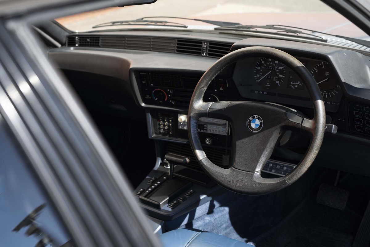 1982 BMW 635 CSiFor Sale In London (RHD) For Sale in London For Sale (picture 13 of 24)