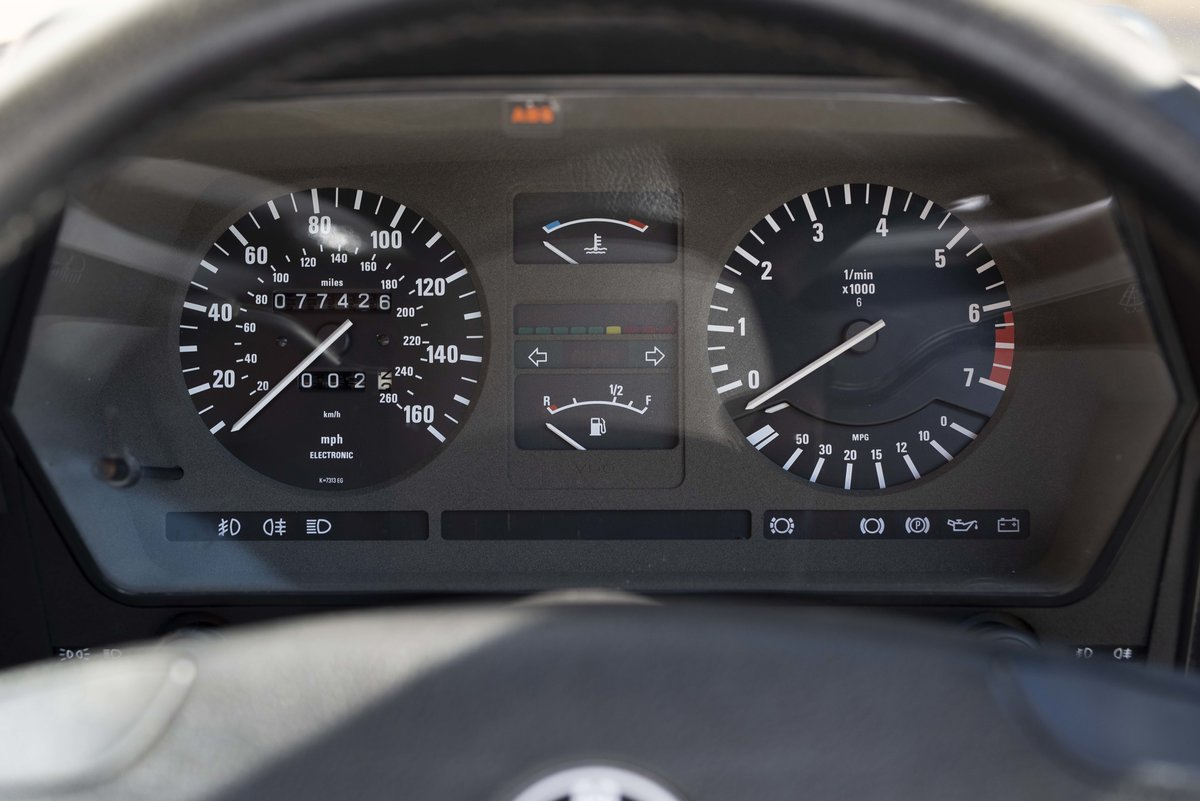 1982 BMW 635 CSiFor Sale In London (RHD) For Sale in London For Sale (picture 14 of 24)