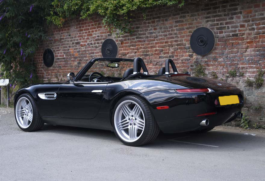 2001 BMW Z8 Roadster (LHD) For Sale In London  For Sale (picture 4 of 19)