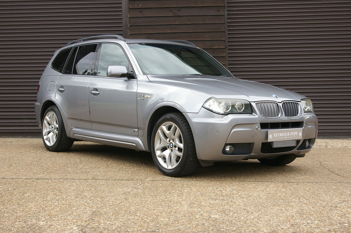 2008 BMW X3 2.5 SI M-Sport xDrive Automatic (65,608 miles) For Sale (picture 1 of 6)