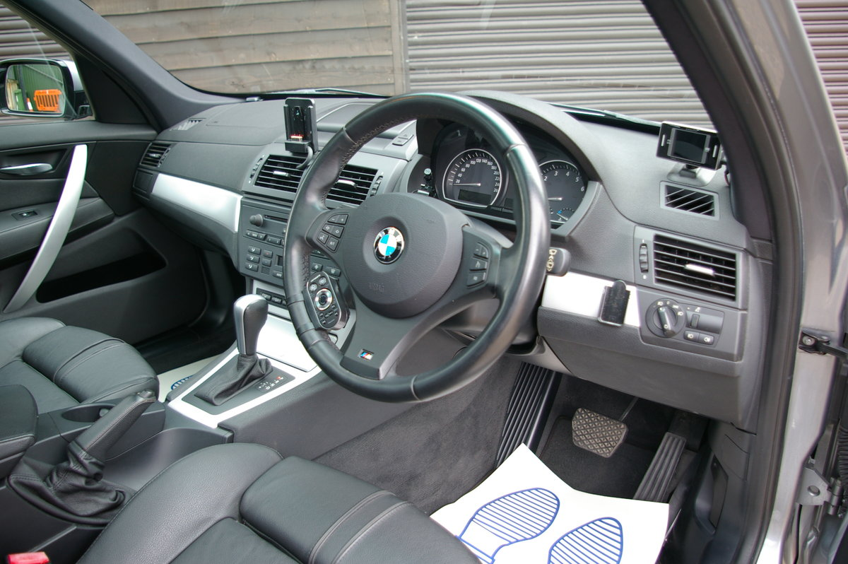 2008 BMW X3 2.5 SI M-Sport xDrive Automatic (65,608 miles) For Sale (picture 4 of 6)