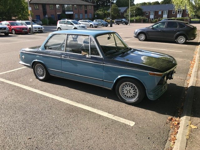BMW 2002 (1975) - REDUCED PRICE  For Sale (picture 6 of 6)