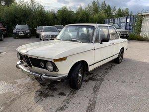1968 BMW 1600-2 renovation project