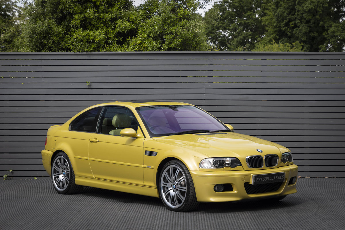2003 BMW M3 (E46) Coupe Manual  For Sale (picture 1 of 6)