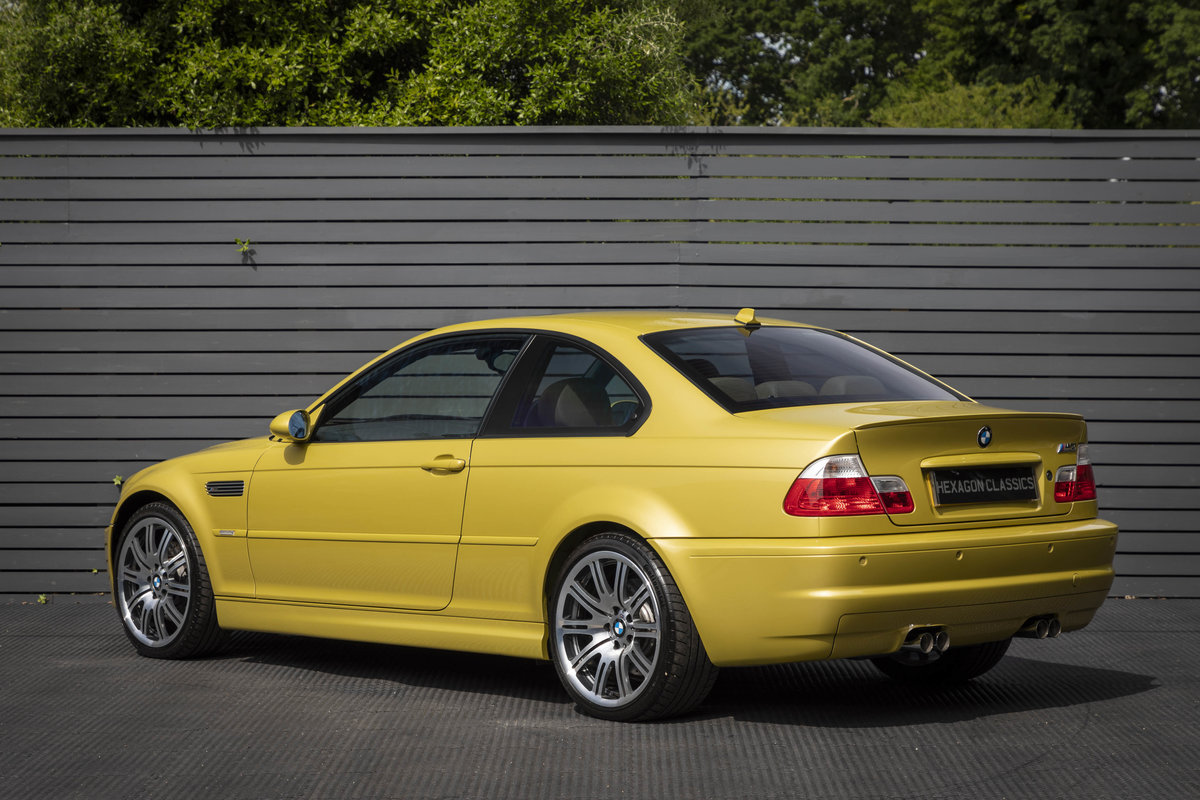 2003 BMW M3 (E46) Coupe Manual  For Sale (picture 2 of 6)