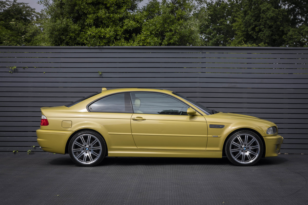 2003 BMW M3 (E46) Coupe Manual  For Sale (picture 3 of 6)