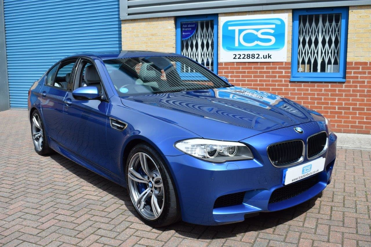 2013 BMW M5 Saloon 560BHP 4.4i V8 Twin-Turbo DCT7 For Sale (picture 1 of 6)