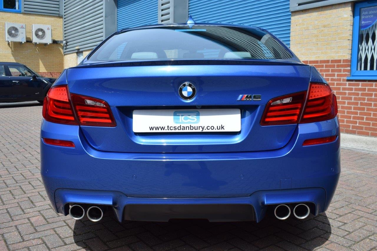 2013 BMW M5 Saloon 560BHP 4.4i V8 Twin-Turbo DCT7 For Sale (picture 5 of 6)