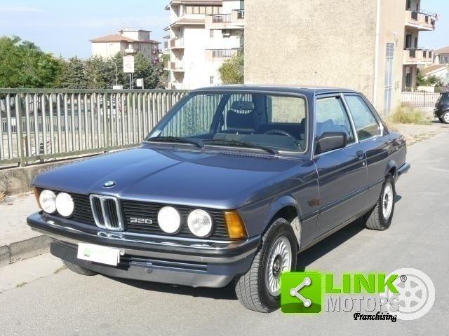 1981 BMW 320 Coupè unico proprietario For Sale (picture 1 of 6)
