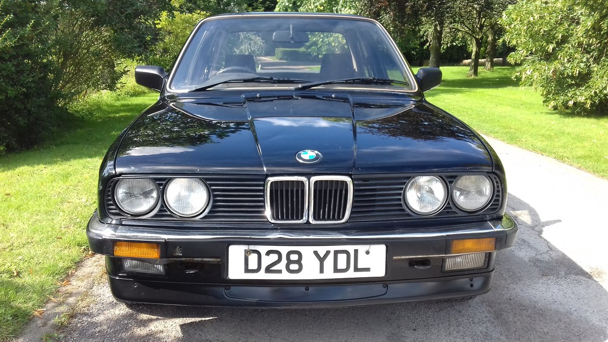 1986 E30 BMW 320i SALOON MANUAL ~ MOT JUNE 2020 ~ BARGAIN!! SOLD (picture 3 of 6)