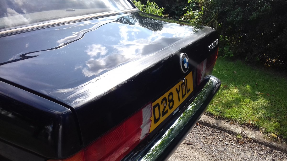 1986 E30 BMW 320i SALOON MANUAL ~ MOT JUNE 2020 ~ BARGAIN!! SOLD (picture 4 of 6)