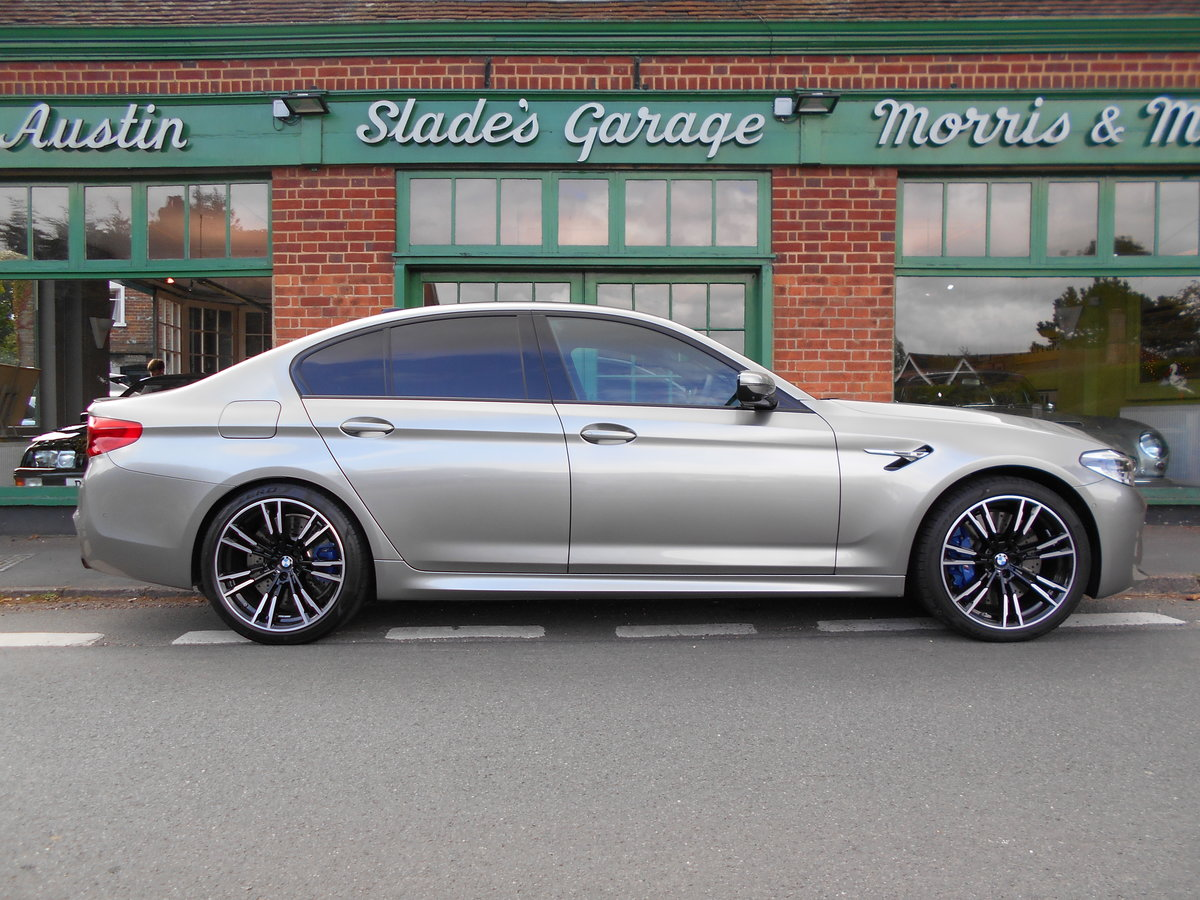 2019 BMW M5 Saloon DCT  SOLD (picture 1 of 6)