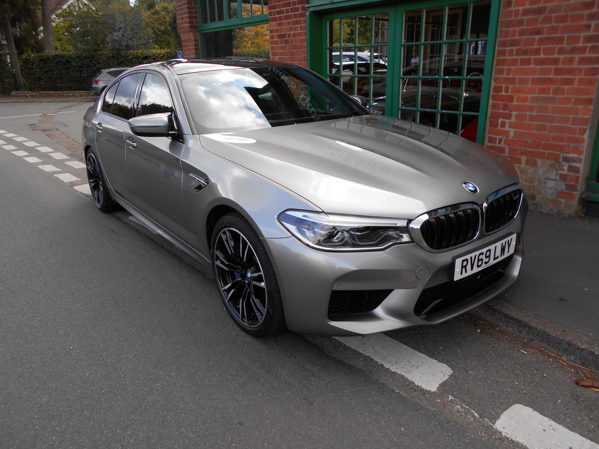 2019 BMW M5 Saloon DCT  SOLD (picture 5 of 6)