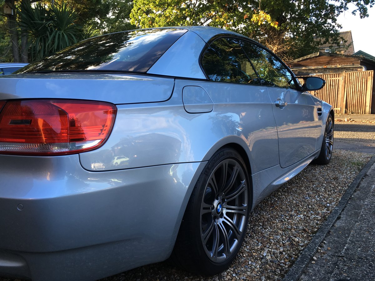 2008 BMW M3 Cabriolet Beautiful example For Sale (picture 1 of 4)