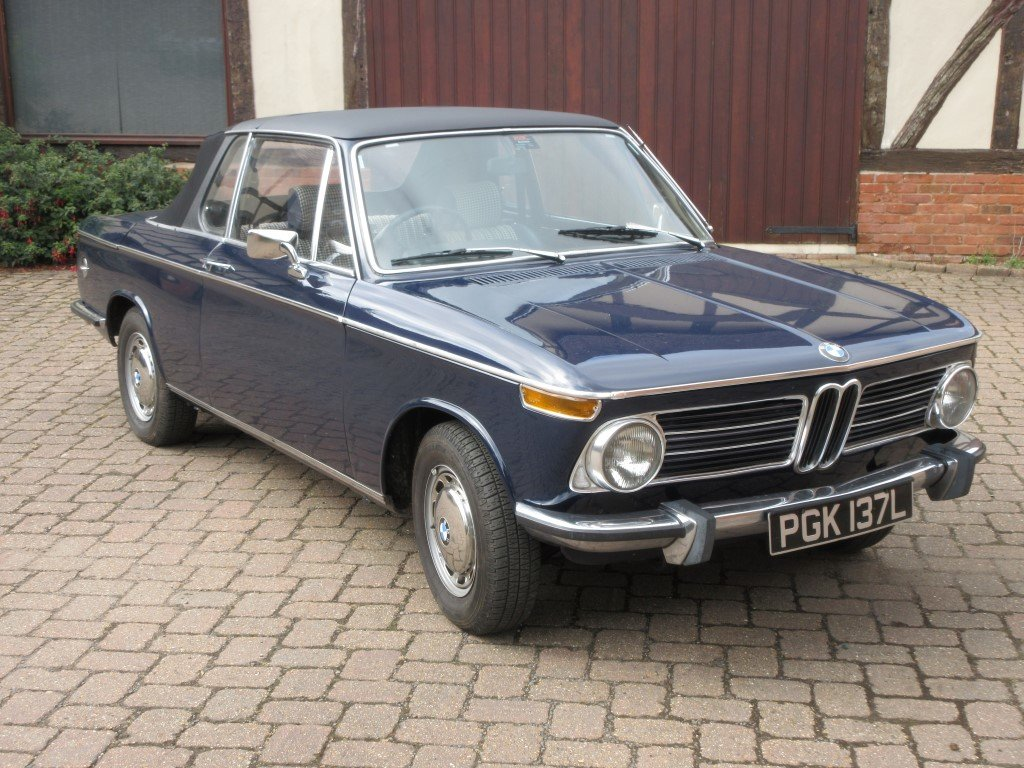 1973 BMW 2002 BAUR CONVERTIBLE For Sale (picture 1 of 6)