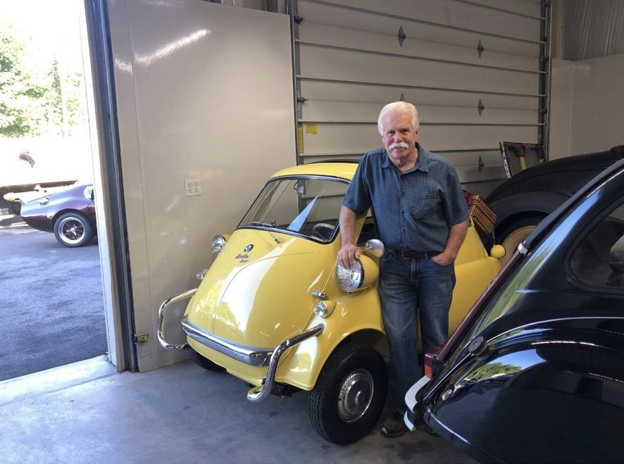 1958 BMW Isetta ex Wayne Carinni show winning  SOLD (picture 1 of 6)