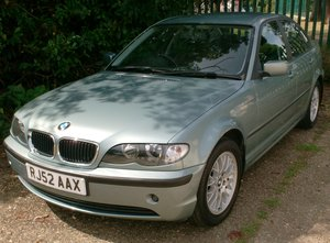 BMW 316 1.8 2002 SOLD