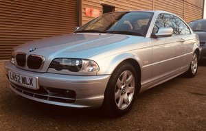 2002 BMW 320ci SE Coupe Manual