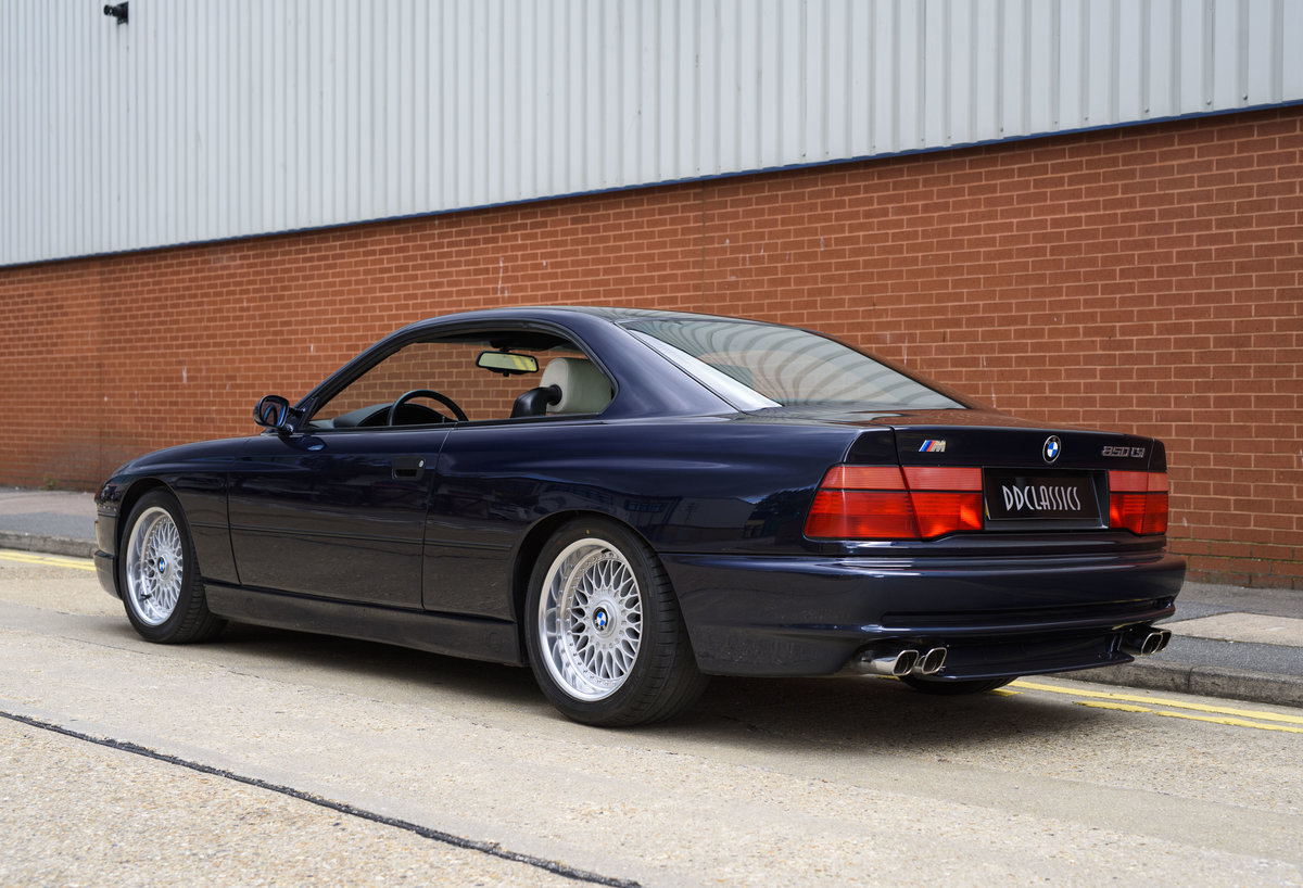 1993 BMW 850 5.6 V12 CSi Powered by M Power 6 Speed Manual  For Sale (picture 4 of 24)