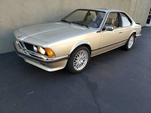 1985 BMW 635CSI Euro-specs E24 Sunroof  5 speed $6.9k For Sale
