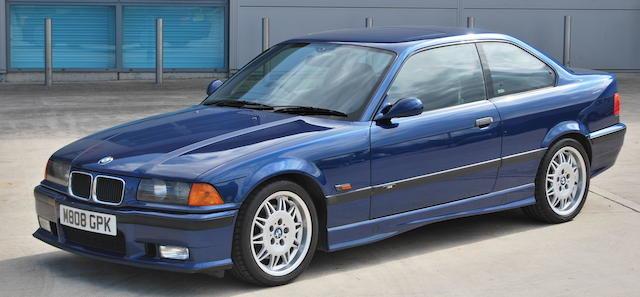 1994 BMW 'E36' M3 COUPÉ For Sale by Auction