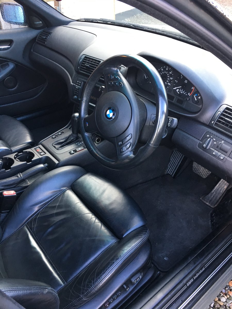 2002 BMW E46 Very rare specification For Sale (picture 2 of 6)