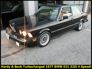 1977 BMW 3-Series 320i Very Rare TurboCharged Beck $obo For Sale
