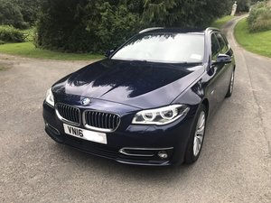 2016 BMW 535i Luxury Auto, FBMWSH, Leather, Sat Nav, Cr For Sale