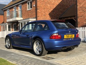 1999 BMW Z3M COUPE LOW MILES FSH RUST FREE For Sale