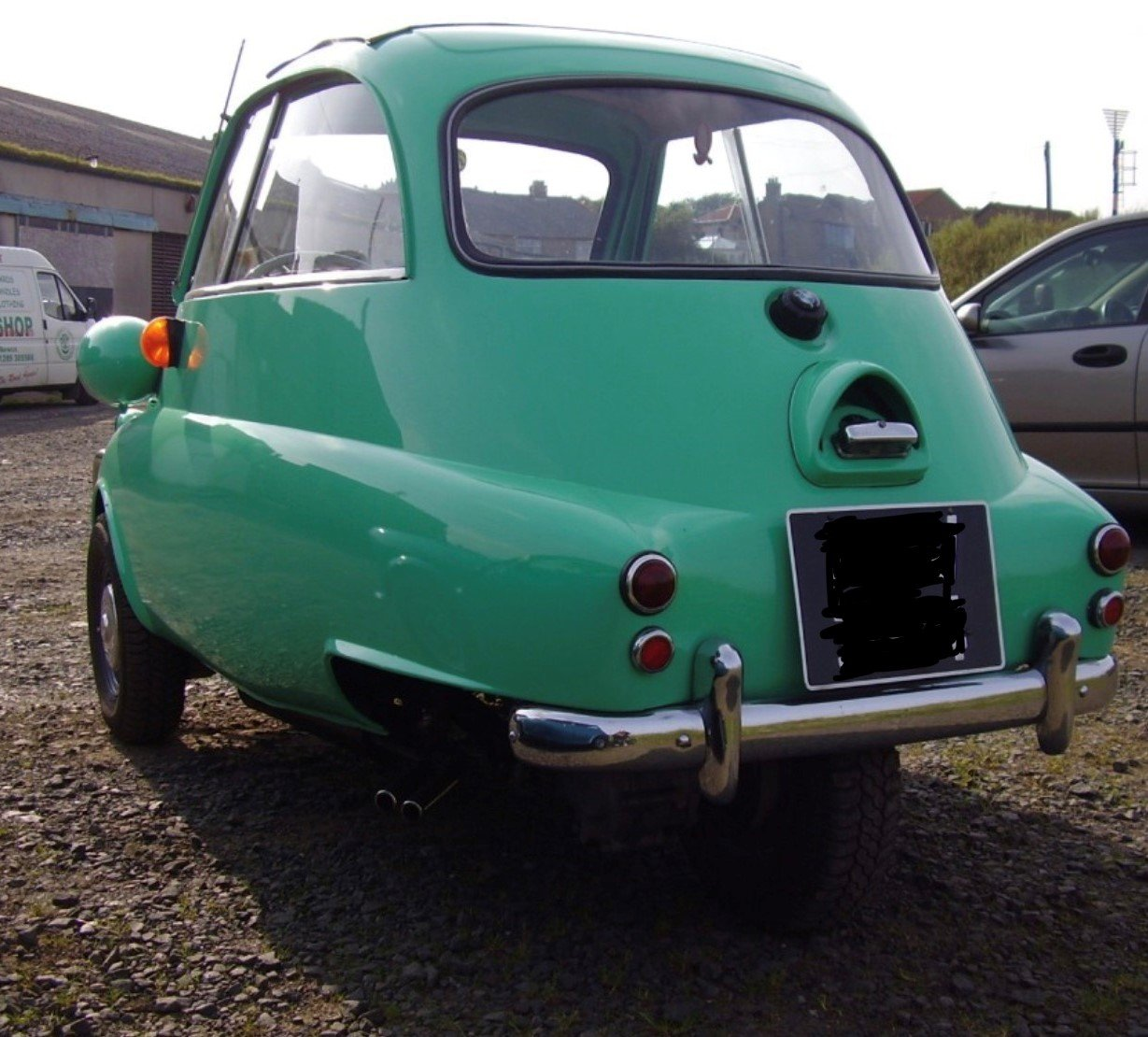 1960 BMW ISETTA BUBBLE CAR LHD FULLY RESTORED  For Sale (picture 2 of 5)