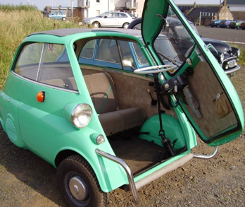 1960 BMW ISETTA BUBBLE CAR LHD FULLY RESTORED  For Sale (picture 4 of 5)