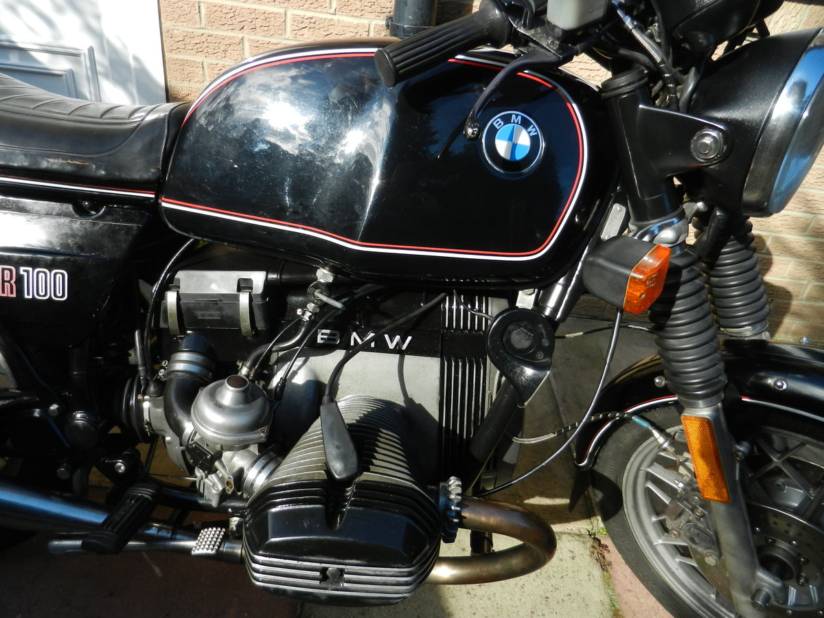 1981 BMW R100 SOLD (picture 6 of 6)
