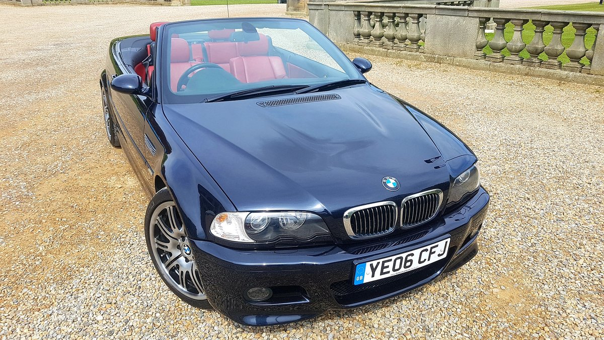 2006 Bmw m3 e46 manual 2dr convertible For Sale (picture 1 of 6)
