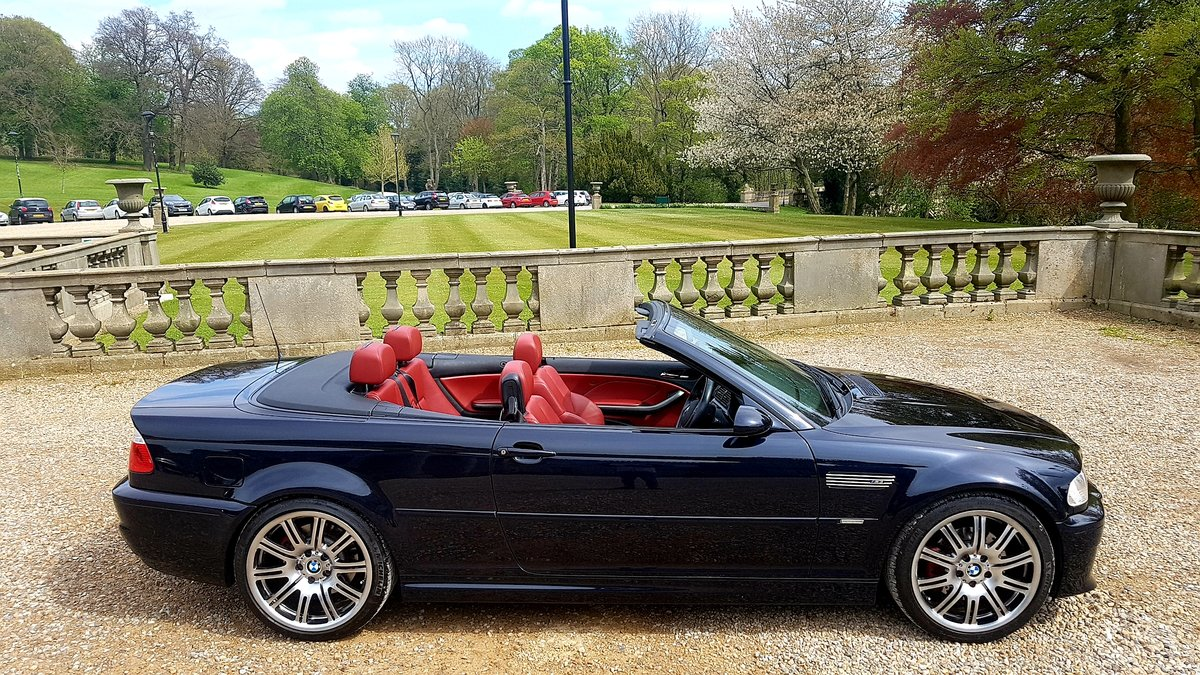 2006 Bmw m3 e46 manual 2dr convertible For Sale (picture 2 of 6)