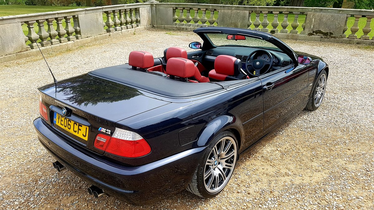 2006 Bmw m3 e46 manual 2dr convertible For Sale (picture 3 of 6)