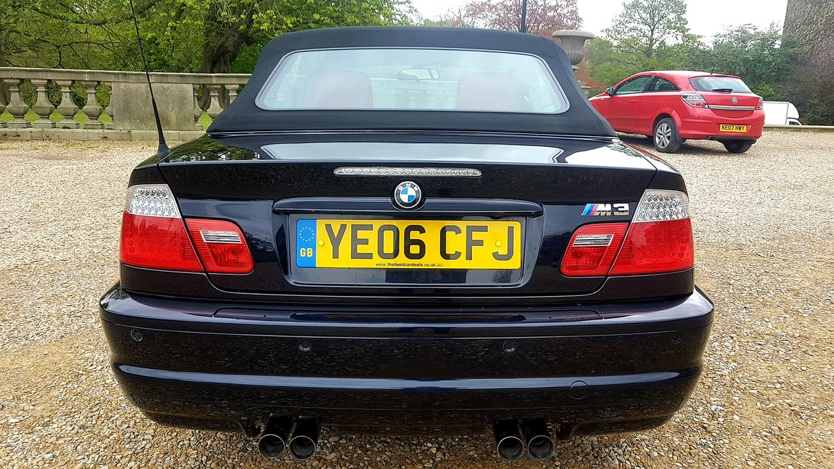 2006 Bmw m3 e46 manual 2dr convertible For Sale (picture 4 of 6)