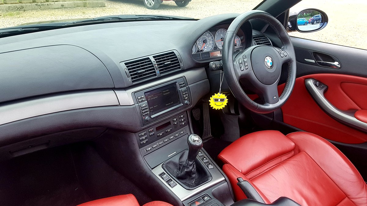 2006 Bmw m3 e46 manual 2dr convertible For Sale (picture 5 of 6)