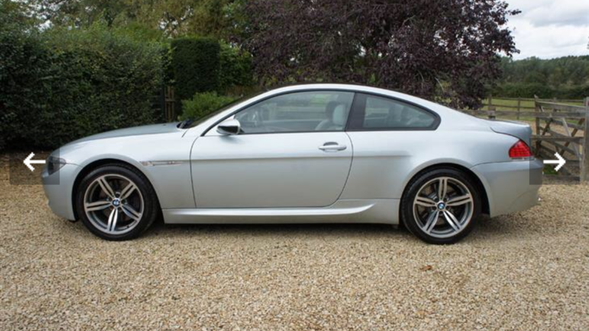 2007 M6 V10 5.0 LOW MILEAGE - HUGE SPEC For Sale (picture 3 of 6)