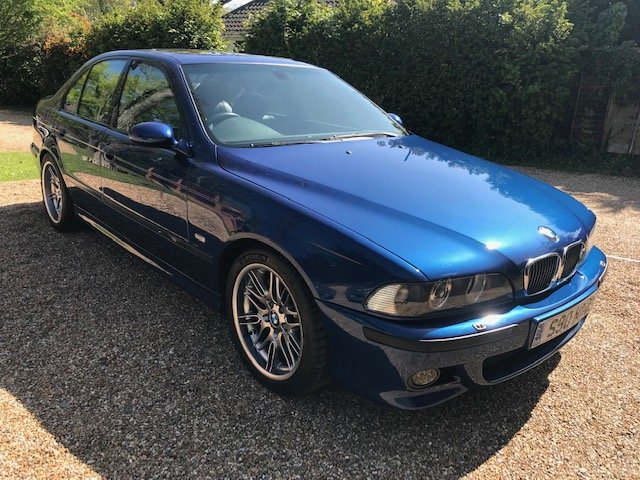 2002 BMW M5 E39, low mileage - 56k, low owners, For Sale (picture 1 of 6)