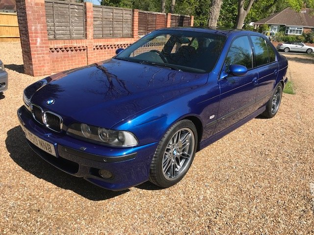 2002 BMW M5 E39, low mileage - 56k, low owners, For Sale (picture 2 of 6)