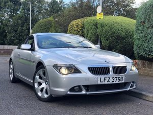 2004 BMW 645Ci V8 Coupe Auto. For Sale