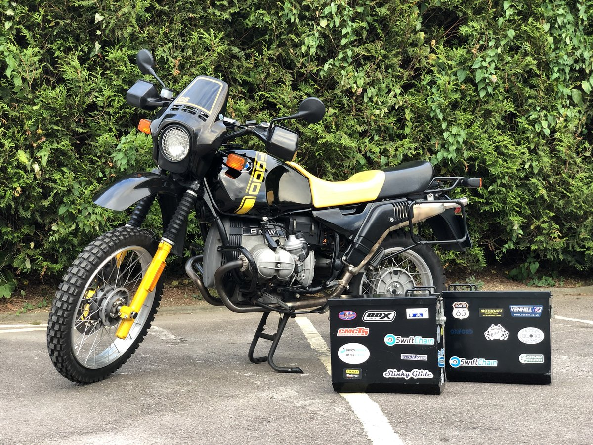 BMW R100 GS Bumble bee 1989 Very Original  For Sale (picture 1 of 6)
