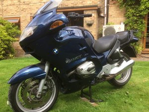 2004 BMW R1150RT with full luggage