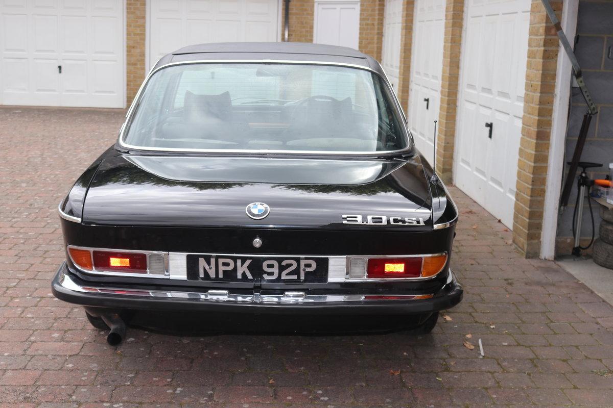 1975 BMW 3.0 CSI E9.  For Sale (picture 4 of 6)