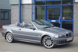 BMW 2.0 318Ci Convertible Manual 2002/52 94000m, FSH Leather