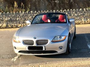 2004 BMW Z4 3.0i SE MAN 6 SPD RED M LTHR BBS