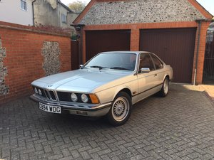 1986 BMW 628csi 6 Series Shark Automatic  For Sale